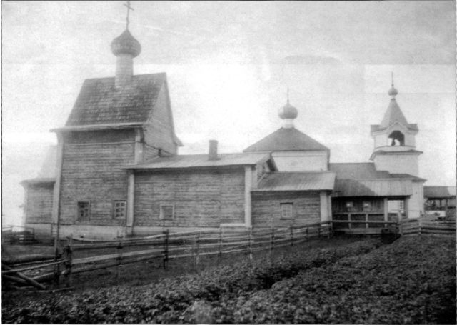 Church in Mezen of Arkhangelsk Gubernia