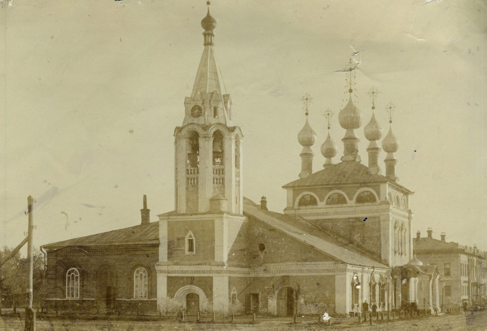 Murom, Ascension Church. View from the south. 1890 - 1900.