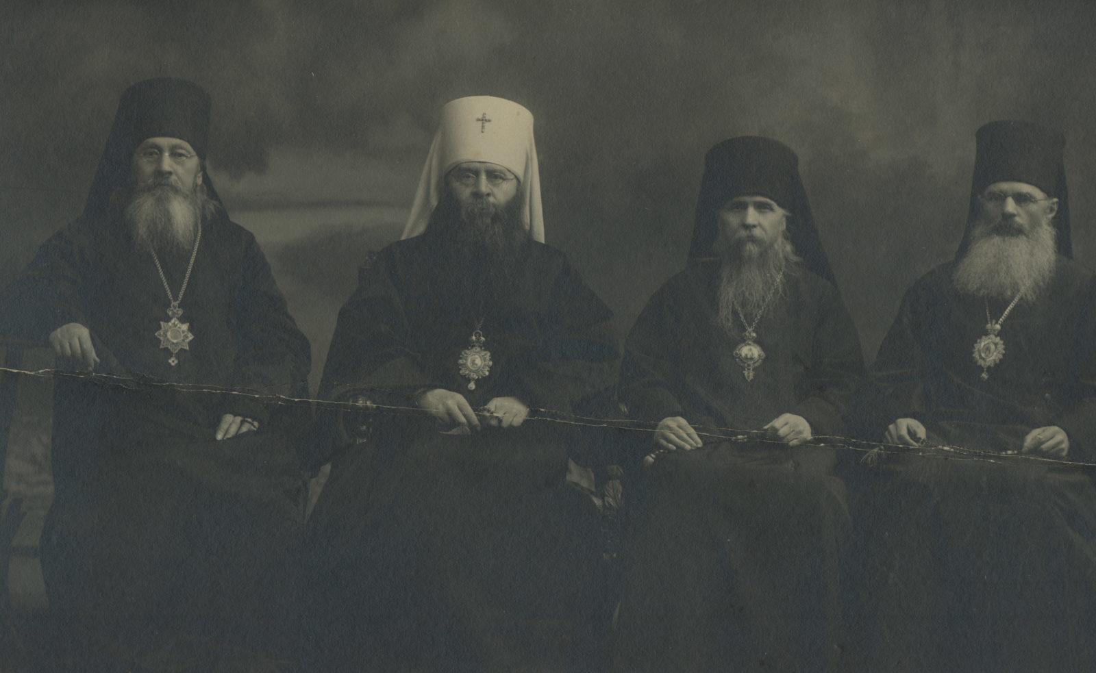 Murom, Metropolit Sergius and bishops Mitrofan (Zagorsky), Evgeny (Mertsalov)