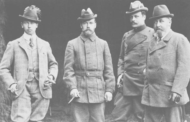 Nicolas II and Kaizer Wilhelm II
