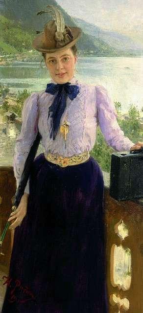 Nordman by Repin 1900