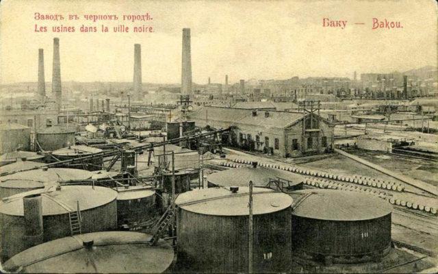 Oil refinery, Baku