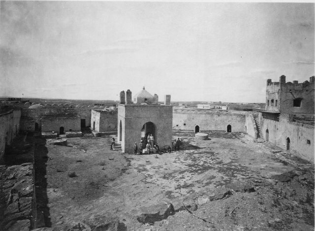 Old Baku. Fire Worshipers Temple