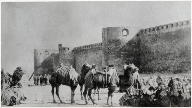Old Baku. Fortress.