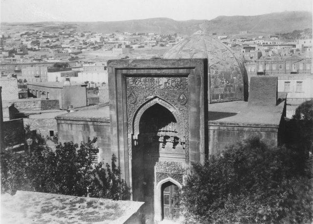 Old Baku. The Khan's Palace.