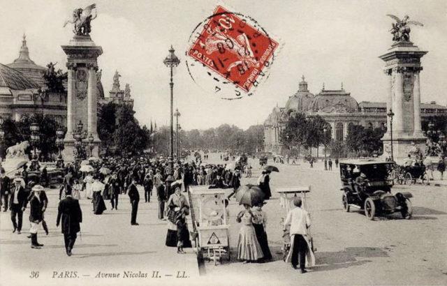 PARIS - Avenue Nicolas II