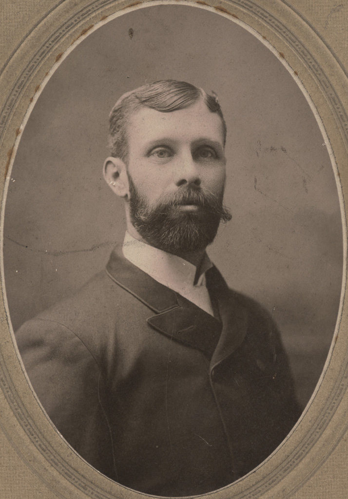 Portrait of Abe Pridham, date unknown