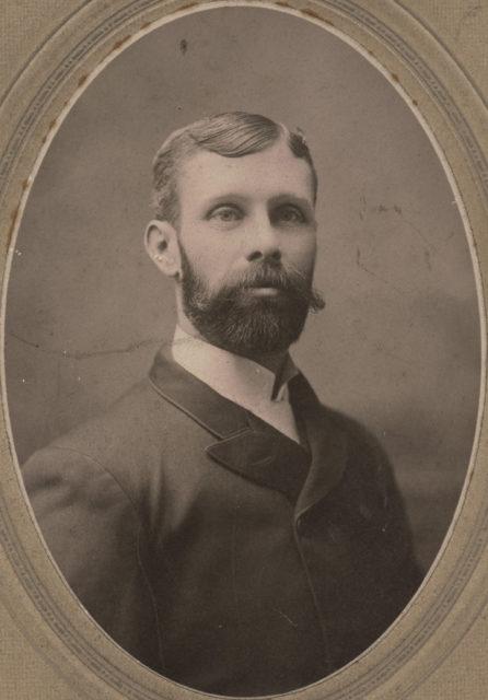 Portrait of Abe Pridham, date unknown