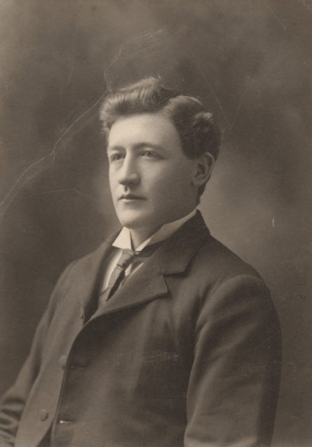 Portrait of Bob Cantlan, date unknown