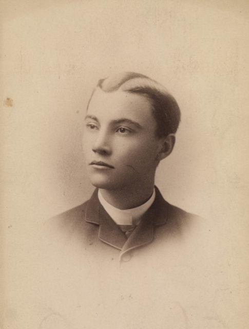Portrait of boy, date unknown