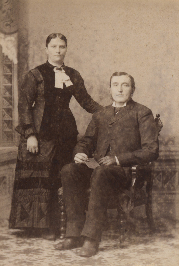 Portrait of couple, date unknown