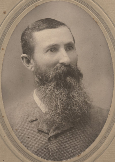 Portrait of Dan Strachan, date unknown