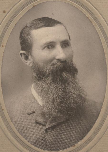 Portrait of Dan Strachan, date unknown