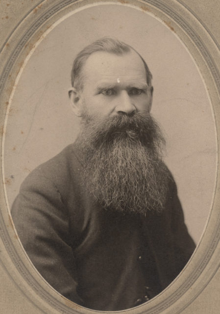Portrait of Dr. McLean, date unknown