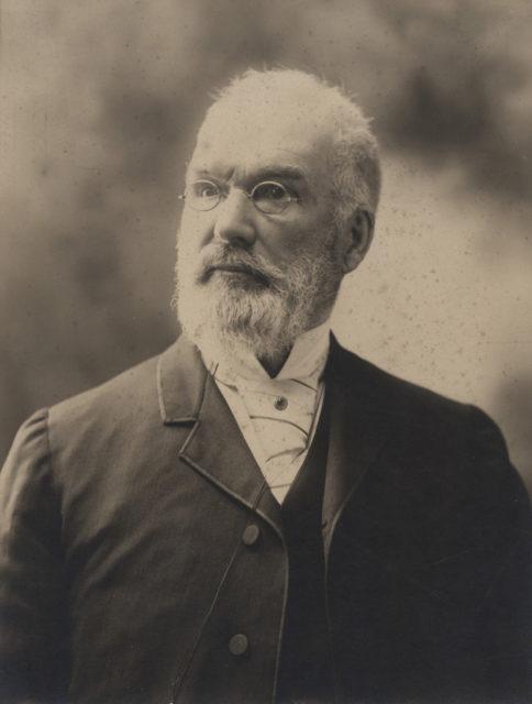 Portrait of Dr. Shannon, senior, date unknown