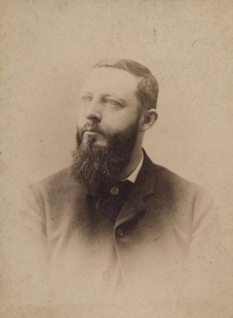Portrait of judge, date unknown