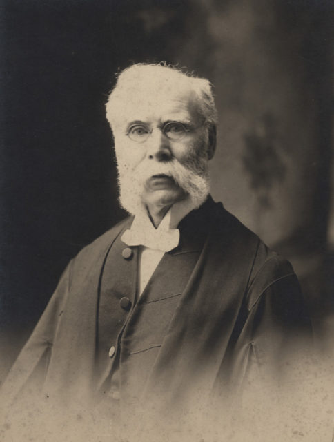 Portrait of Judge Doyle, date unknown