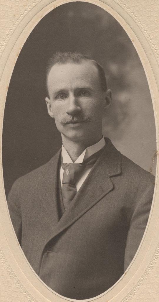 Portrait of Morton Robertson, date unknown