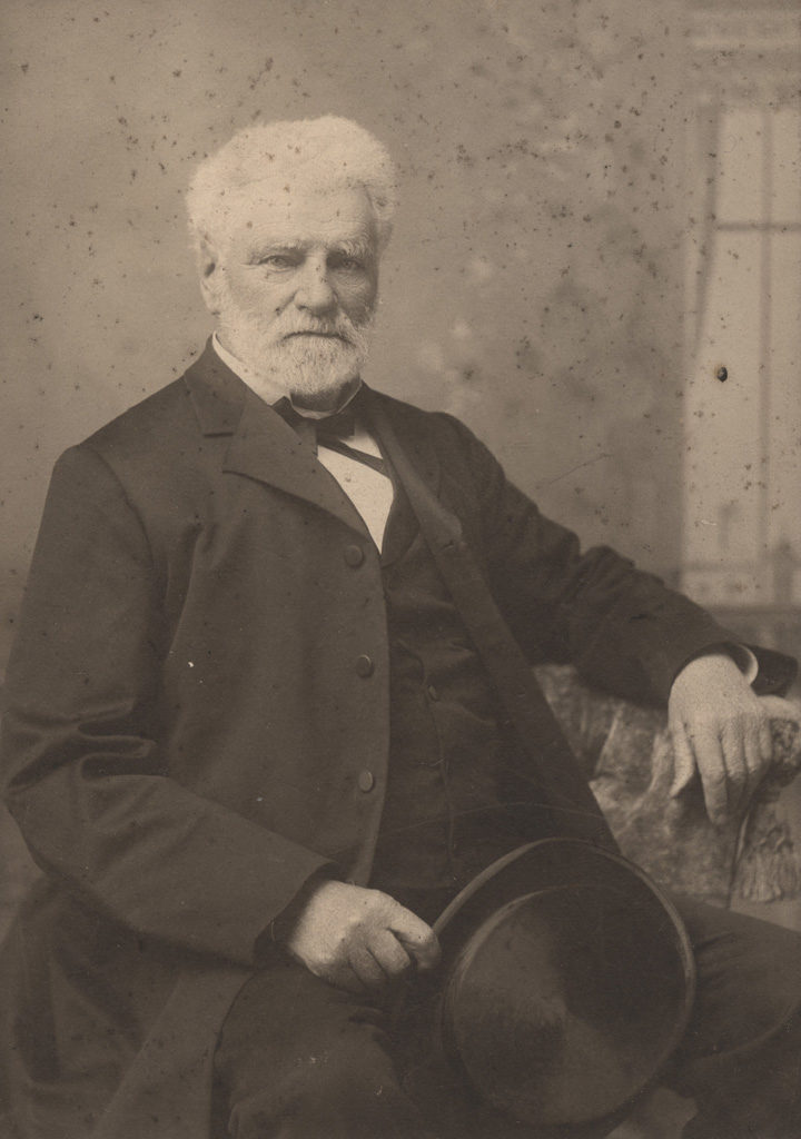 Portrait of Mr. Archie Dickson, Postmaster, date unknown