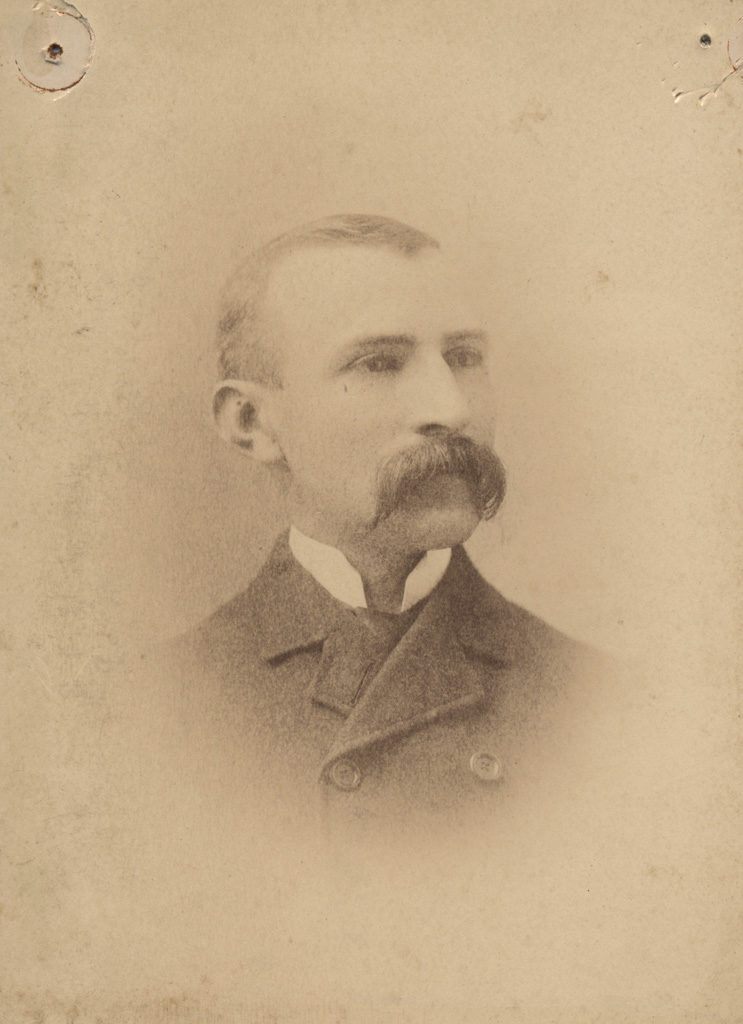 Portrait of Mr James Robinson, date unknown
