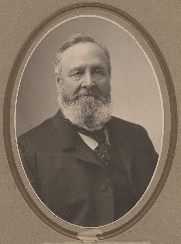 Portrait of Mr. Matheson Hutchison, date unknown