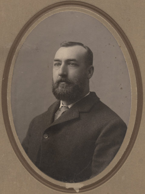 Portrait of Mr. R. S. Williams, date unknown