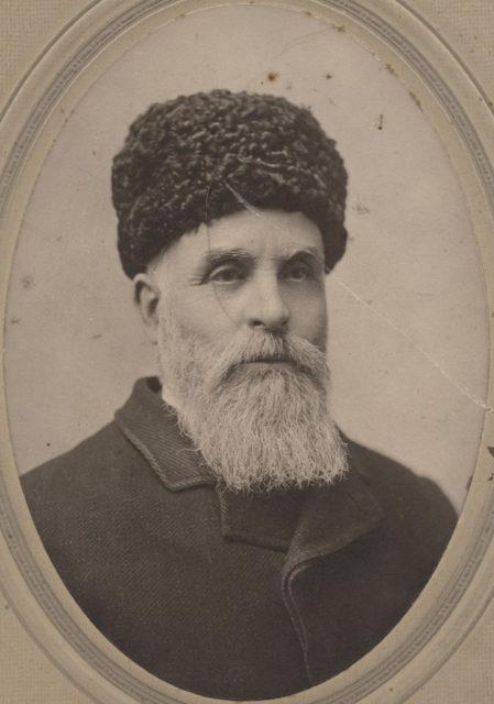 Portrait of Mr. Smeeth, date unknown
