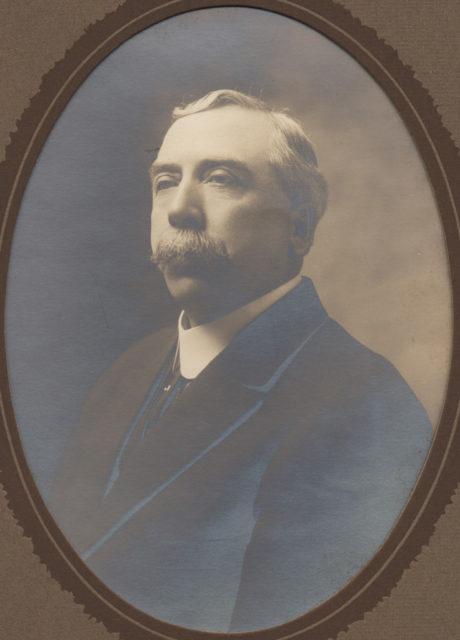 Portrait of older man, date unknown