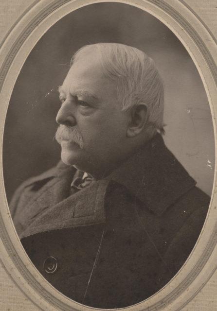 Portrait of R.S. Chilton, American Consul, date unknown