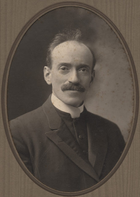Portrait of the Reverend Mr. Ross, date unknown