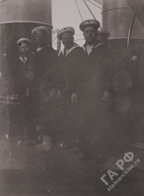 Sailors on Standard 1899-1900.