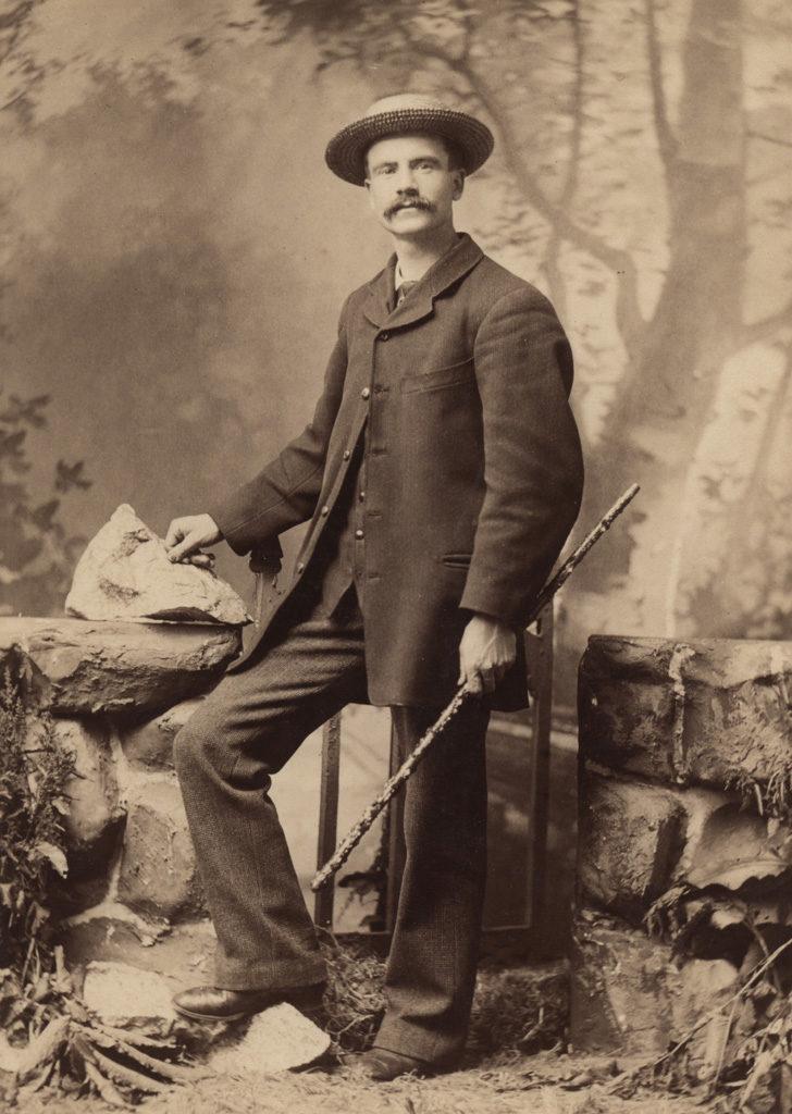 Self-portrait of Reuben R. Sallows, date unknown