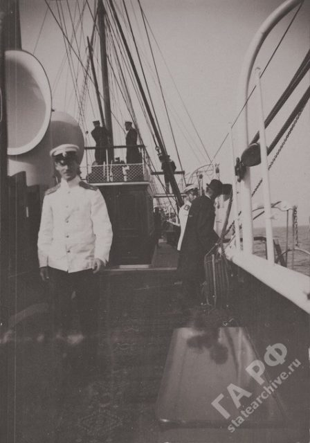 Standard Yacht. 1899-1900.
