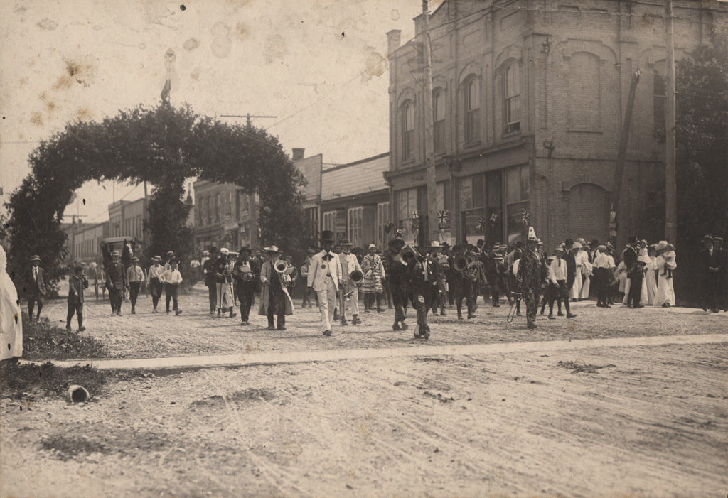 Street parade, date unknown