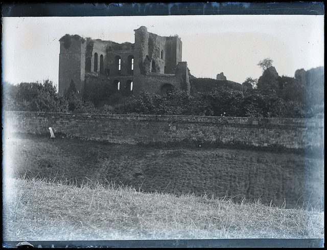 The Keep, Kenilworth Castle, early 1900s