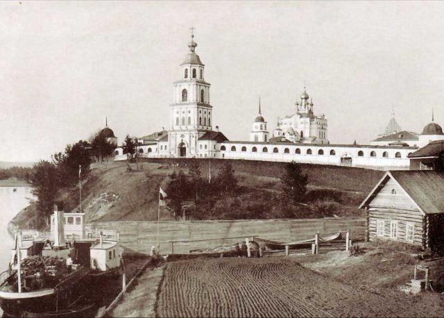 Vercolsky Monastery, Pinega view