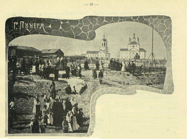 Vercolsky Monastery, Residents of Pinega, Arkhangelsk region, Russia