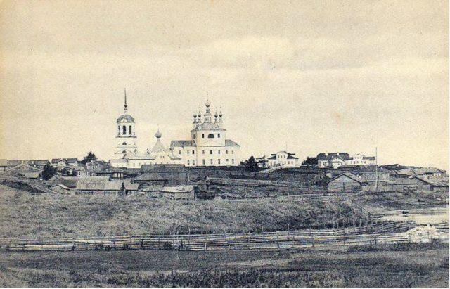 Verkolsky Monastery, Arkhangelsk province, Russia