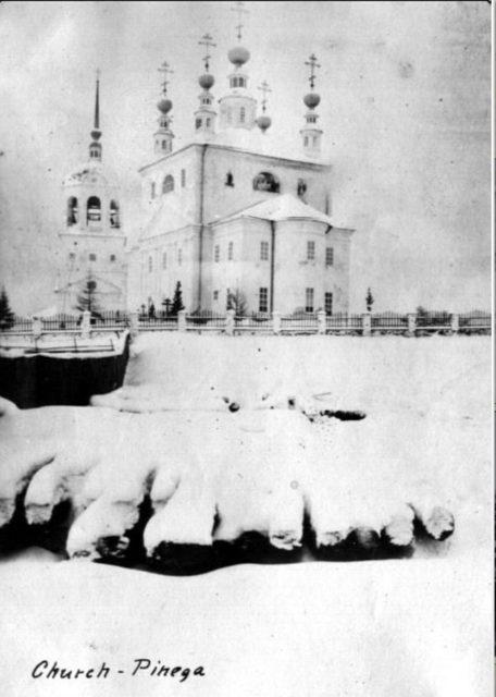 Church, Pinega, Arkhangelsk region, Russia