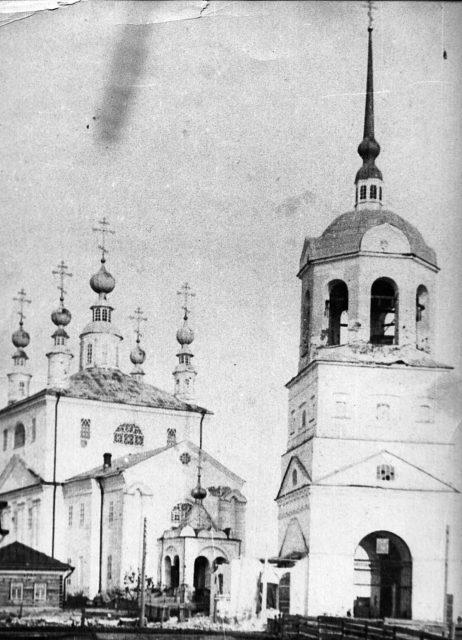 Verkolsky Monastery, Pinega