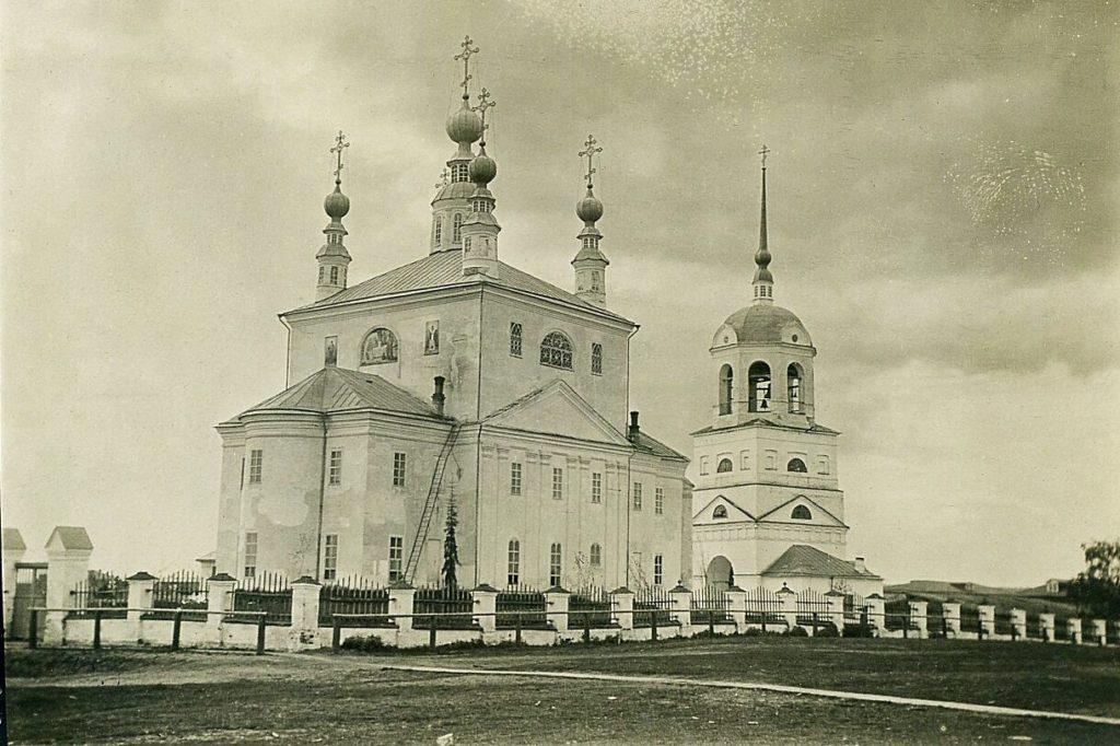 Cathedral of Verkolsky Monastery, Pinega, Arkhangelsk region, Russia