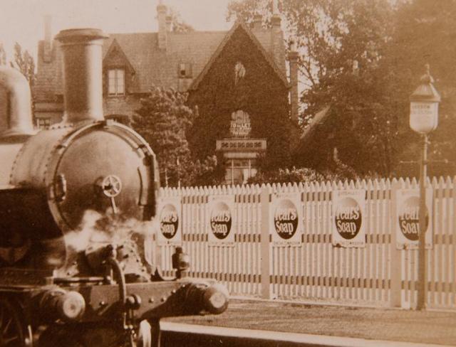 Vintage Railway Album: 5 (detail) - Harrow & Wealdstone station