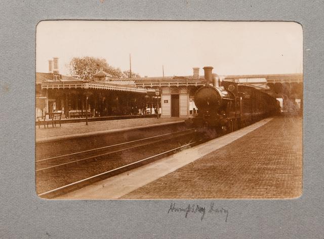 Vintage Railway Album: 6 - LNWR Humphrey Davy at Harrow & Wealdstone station