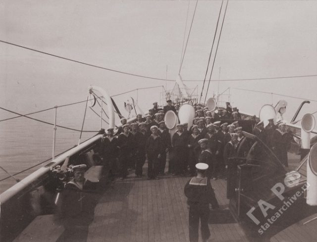 Yacht Standard Crew. 1899-1900.