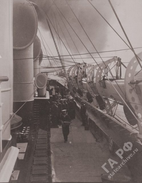 Yacht the Standard Crew 1899-1900.