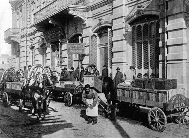Zhigulevsky beer warehouse. Delivery of delivery Zhigulevsky beer. Baku.