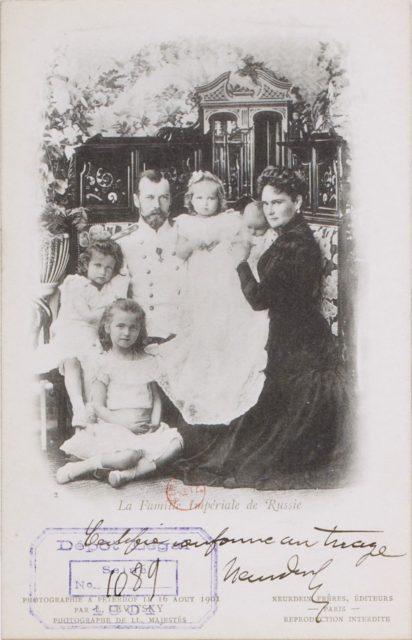 Le Familie Imperial de Russie