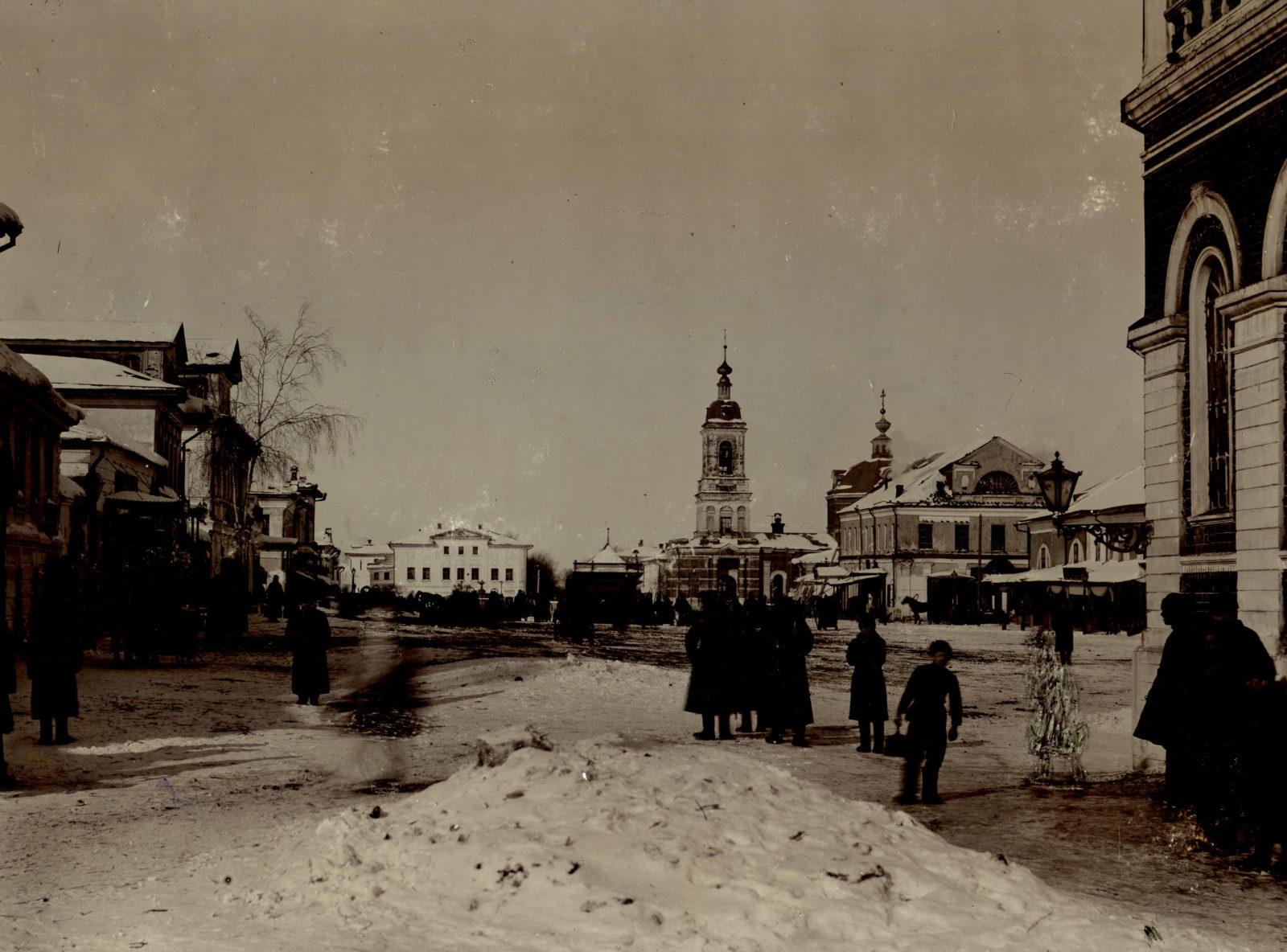Murom, Nativity street. Ermakov water tower. 1901.