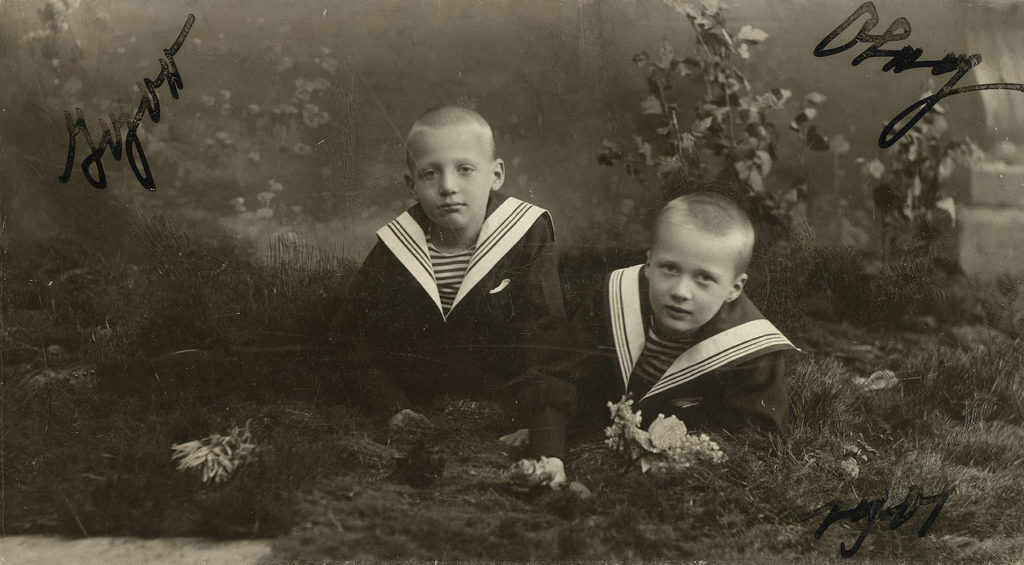 Oleg Konstantinovich and Igor Konstantinovich - Children of the Grand Duke Constantine Romanov