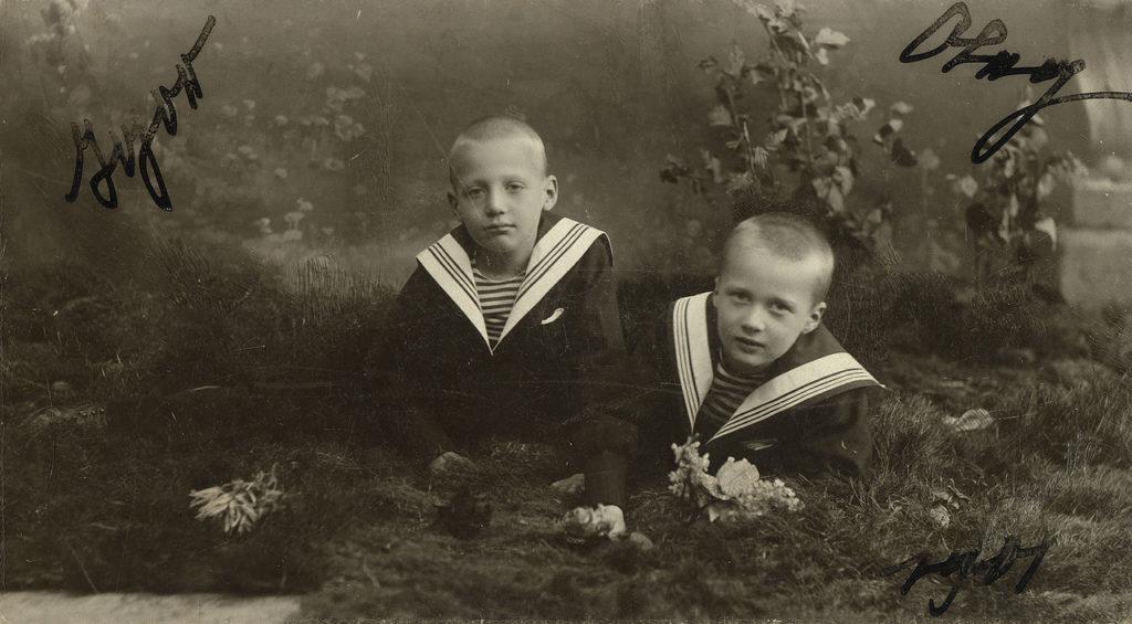 Oleg Konstantinovich and Igor Konstantinovich - Children of the Grand Duke Constantine Romanov